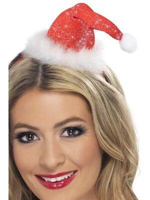 Mann Haar (Mini Nikolaushut auf Haarreif Boppers Weihnachtsmann Santa Hat)
