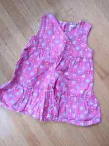 George 12 month dress pink flowers 2$ - check my other ad's