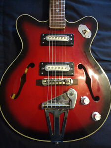 Vintage Semi Hollow Body