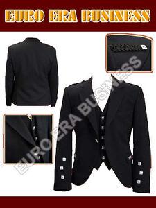Scottish Argyle kilt jacket with Vest  All sizes available.