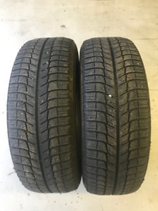 $70 for 2 Michelin X-Ice Winter Tires Size 205/65R-16