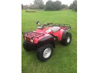 Honda big red 300 cc most reliable quad ever made