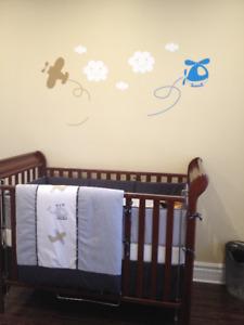 Literie pour bébé - avion de marque libellule