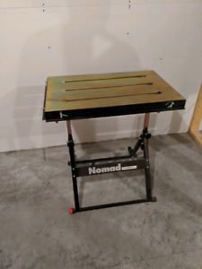 Like new nomad welding table