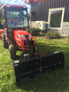 Branson tractor with cab with loader with front blower $331.00/M