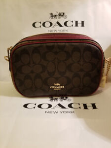 Coach Isla Crossbody bag with chain