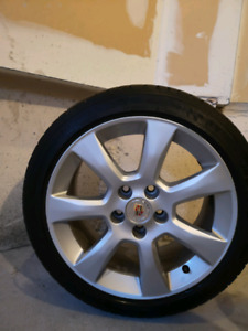 Cadillac ATS wheels / Michelin all season tire package