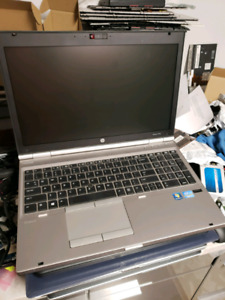 HP elitebook 8570p,i7-3520m,8gb ddr3,320gb hdd,ATI HD7570m,win10