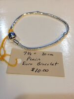 """7.5"""" Euro style bracelet for charms"""