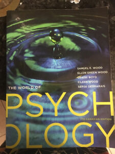 The world of psychology 7th Canadian adition