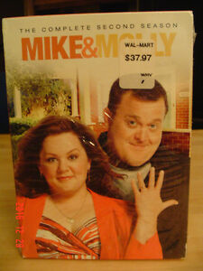 """MIKE & MOLLY"" TV SERIES, SEASON 2 WITH 3 DISCS SEALED, UNOPENED"