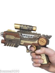 NOVELTY-FANCY-DRESS-STEAMPUNK-GUN-FANCY-DRESS-COSTUME-ACCESSORY
