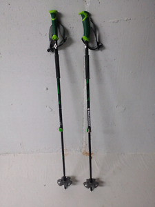 BRAND NEW BLACK DIAMOND PURE CARBON ADJUSTABLE SKI POLES 2016