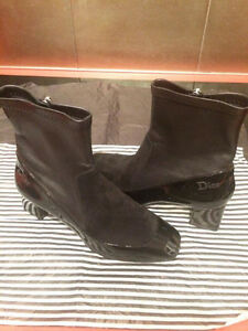 Brand New Never Used! Black Dior Women Size 36 Boots