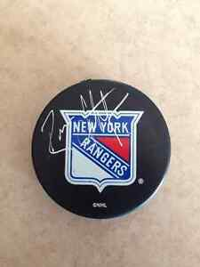New York Rangers Brian Leetch autographed
