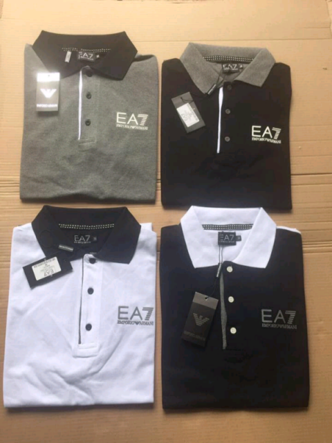 db1acfe0 EA7 EMPORIO ARMANI POLO T SHIRTS | in Leicester, Leicestershire ...