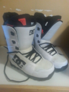 Dc snowboard boots.
