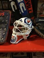 Andy Moog Game Used Oilers Jerseys, Equipment & Sticks