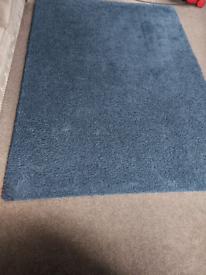 IKEA blue/navy rug