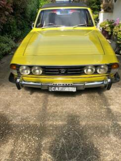 1973 Triumph Stag Convertible Wentworth Falls Blue Mountains Preview