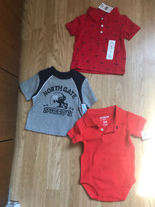 9 month boy clothes (never worn with tags)