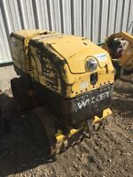 Compactor, trench roller RENT