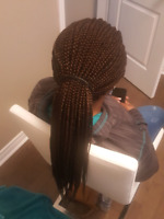 Oshawa hair stylist. Price depend on size and lenght of braid..