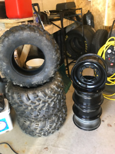 ATV tires and rims