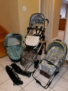 Complete uppababy vista travel system