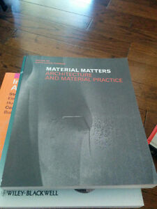 material matters architecture and material practice