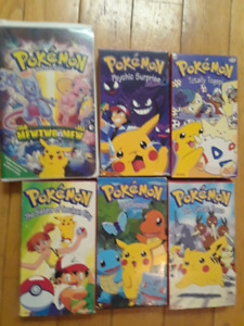 Pokemon VHS tapes for sale