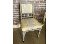 LAURA ASHLEY COVERED 1940's chair