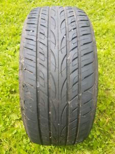 one 235/50/18 summer tire