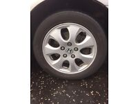 Honda Accord Civic 16 inch Alloys wheel with tyres