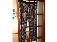 Next loose maternity trousers size 18