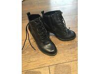 Next Black Ankle Boots
