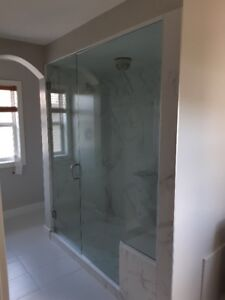 Tired of searching safety GLASS SHOWER DOORS that fits your bath