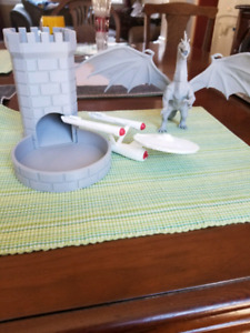 Two dice towers for sale.