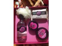 Body Shop British Rose gift set