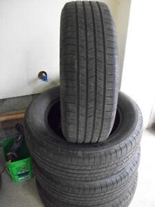 4 pneus d été michelin 225 65 17,,160 $       514 571 6904