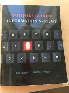 Ryerson ITM102/RMG303 business driven information systems 3rd ed
