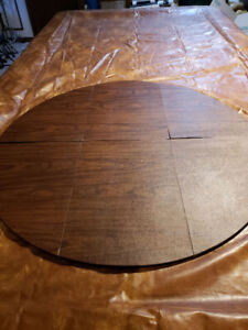 Antique Table, Chairs and Custom Heat Pad