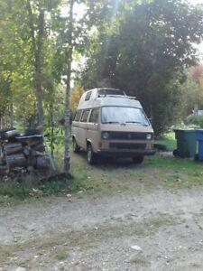1984 Volks Camper van from Germany.