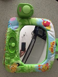 Rain Forrest car mirror with music and remote