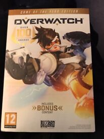 OVERWATCH GAME OF THE YEAR EDITION (BRAND NEW)