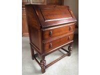 Oak Bureau / Writing Desk