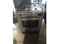 Zanussi gas cooker and electric oven 60cm