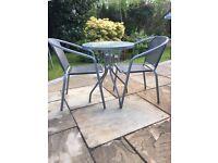 3 piece garden furniture