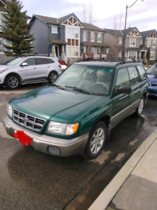 1999 Subaru Forester - needs to be imported