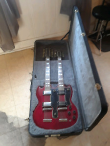 Double neck 12 string guitar